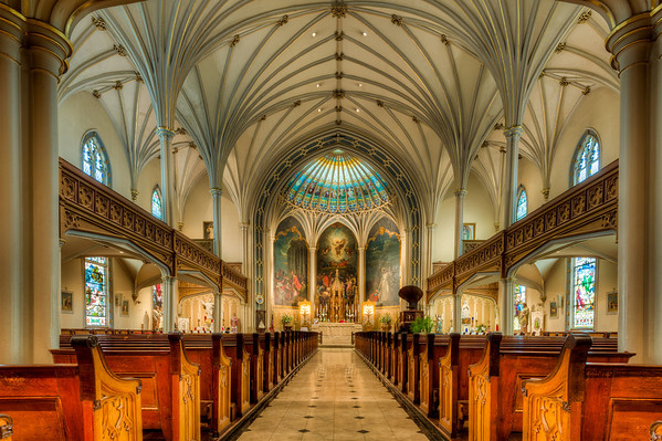 St. Patrick's Cathedral in New Orleans