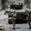 Allied Tank in Miniature